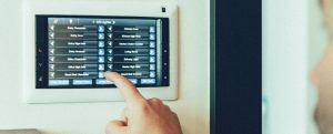 Elan lighting touch screen